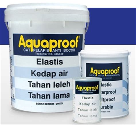 Cat Pelapis Anti Air Menggunakan Cat Pelapis Aquaproof The Knownledge