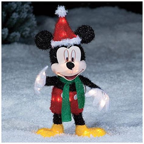seasonal decor christmas 2 disney mickey mouse santa hat