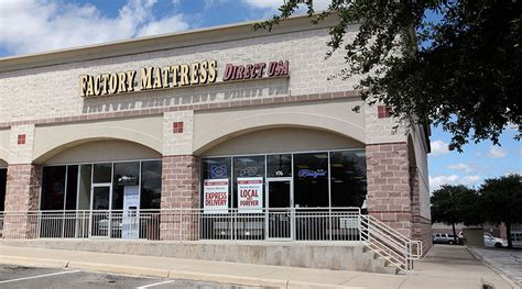 San Antonio Mattress Stores by Mattress Store Factory Mattress Location At 11631
