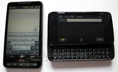 Hp Htc Hd 2 htc hd2 vs nokia n900 keyboard comparison slashgear