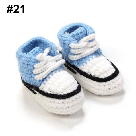 Handmade Baby Shoes For Sale - shoes knit boots baby crochet casual crib handmade