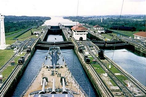 Photo Panama Canal by Panama Canal Picture Panama Canal Photo Panama Canal Pic