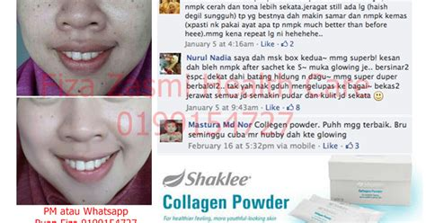 Berapa Collagen harga promosi shaklee collagen powder fiza zasmi