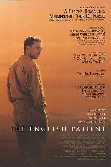 themes the english patient english patient movie posters at movie poster warehouse