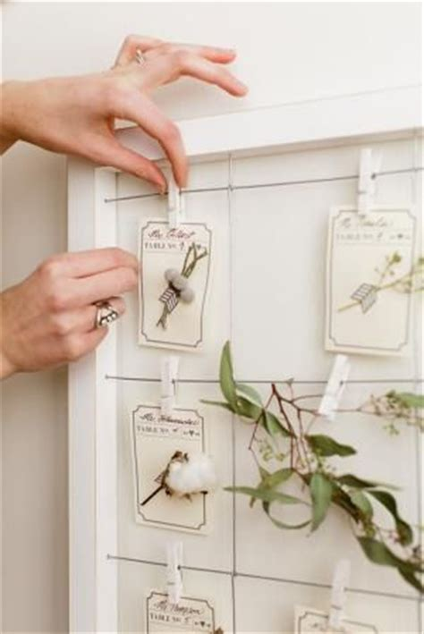 diy gem escort card holders wedding weddings and place 17 best images about pretty little placecards on pinterest