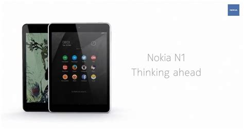 Spesifikasi Tablet Android Nokia N1 say hi to the nokia n1 tablet with android 5 0