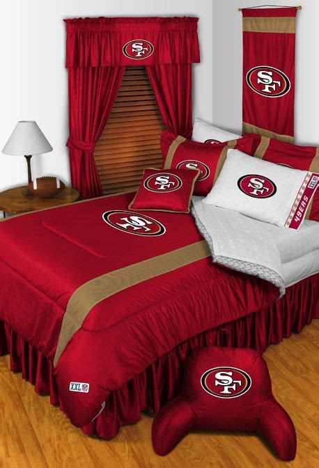 san francisco 49ers comforter 20 best images about 49ers logo on pinterest logos