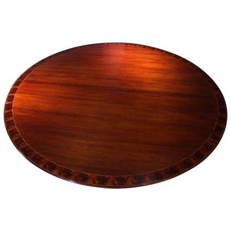Large Circular Table Large Federal Style Mahogany Circular Table For Sale At