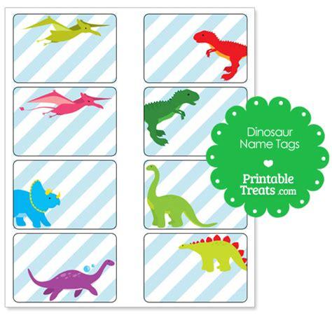 printable dinosaur gift tags printable dinosaur name tags party theme dinosaur