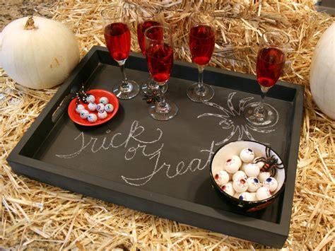 diy chalkboard serving tray make a chalkboard serving tray hgtv