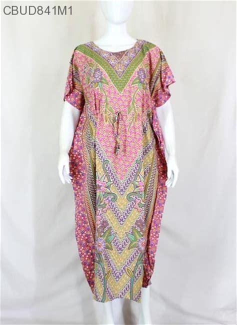 Longdress Batik Jumbo Baju Santai Wanita Jumbo Perumahan Daster Murah daster kelelawar motif bunga hap daster longdress