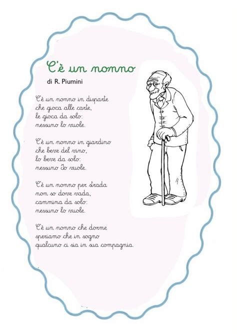 lettere per il nonno c 232 un nonno poesia per bambini