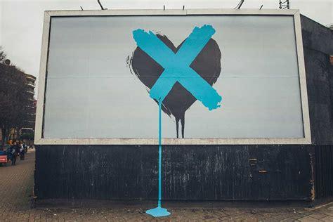 chvrches  single grafitti teaser campaign diabolical