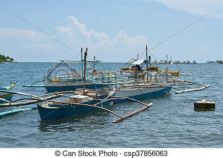 small fishing boat in the philippines fishing boats in the philippines photograph image of