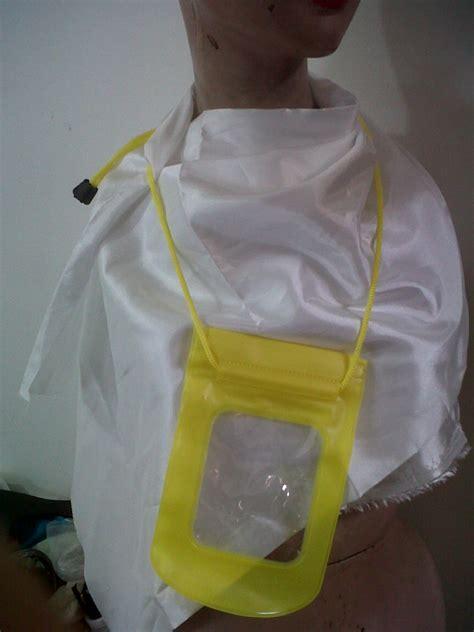 Waterproof Bag Cover Handphone Anti Air Hujan Casing Sarung Hp jual waterproof handphone casing anti air hp ponsel hujan c alfa kirani