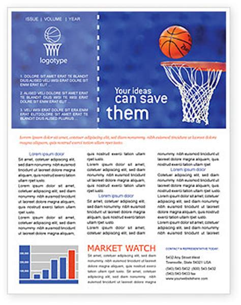 download sports newsletter templates microsoft word