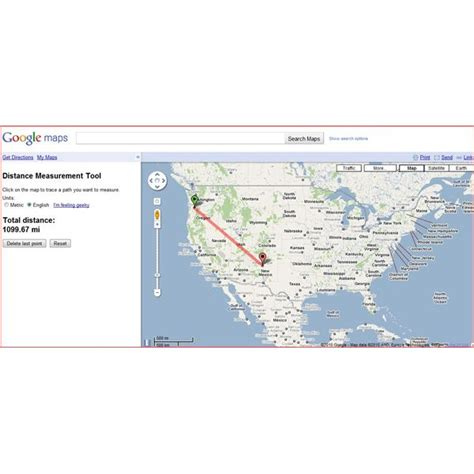 maps directions mileage maps distance measurement tool and