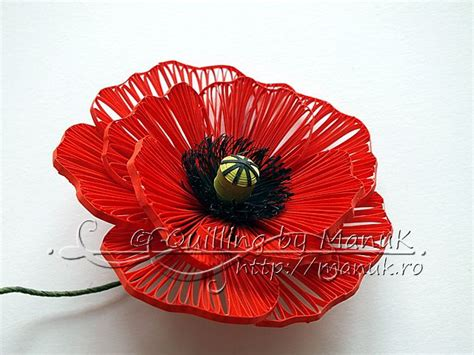 quilling poppy tutorial 227 best images about quilling tutorials on pinterest