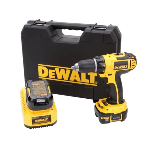 dewalt 18 volt lithium ion 1 2 in cordless compact drill