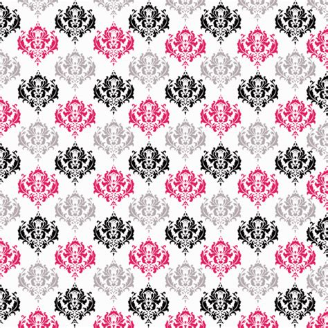 pink damask pattern black and white damask pattern cliparts co