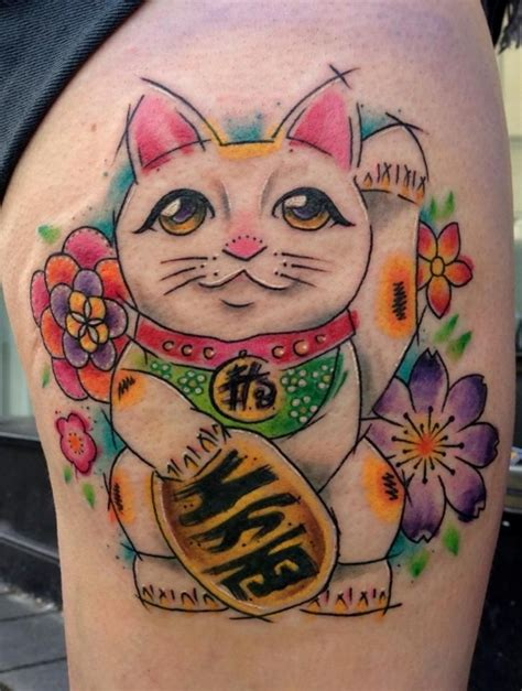 tattoo cat japanese 16 best images about maneki neko on pinterest the black