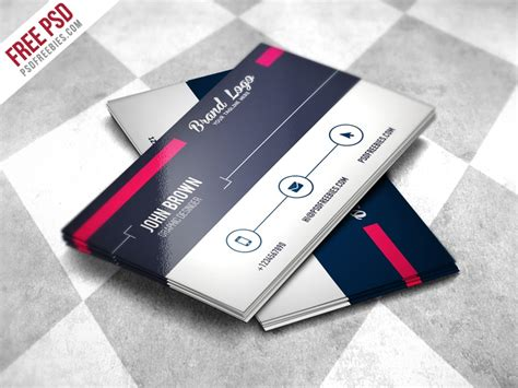 100 Free Business Cards Psd 187 The Best Of Free Business Cards Card Psd Templates