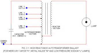 hid ballast schematic s high reactance type ecn electrical forums
