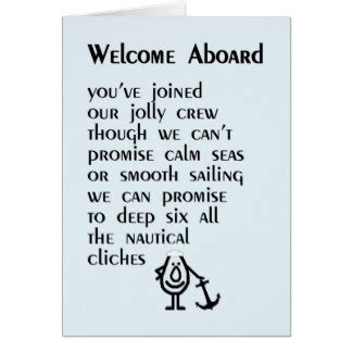 Welcome Card Quotes