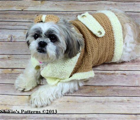 free crochet pattern for dog coats dog coat crochet by shifio crocheting pattern