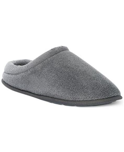 club room slippers club room s terry slip on slippers shoes macy s