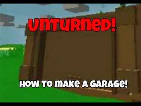 Garage Door Unturned How To Get Garage Door Id Unturned Ark Survival Evolved