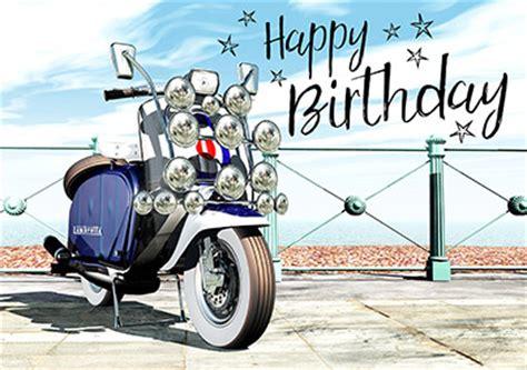 Motorbike Amp Biker Birthday Cards Funky Pigeon