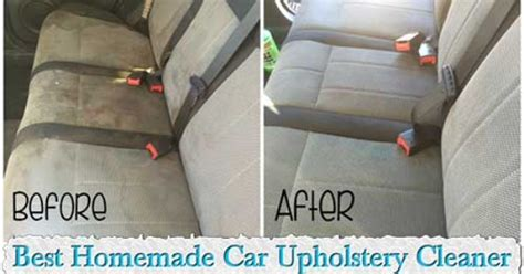 Diy Upholstery Coupon by Best Car Upholstery Cleaner Make Your Own