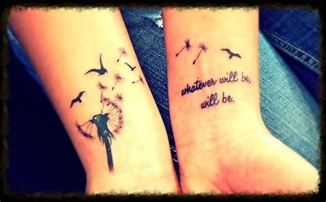 words of wisdom tattoo designs dandelion with words of wisdom quote tattoos