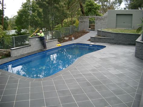 pool pavers decosee bluestone pavers