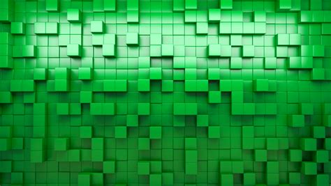 Lime Green Loopy Gravity Element 1 3d green abstract background seamless loop stock footage 4872083