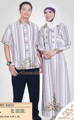 Baju Koko Dan Gamis Mutif Series Sarimbit Fashion Muslim busana muslim indonesia tren setter fashion busana