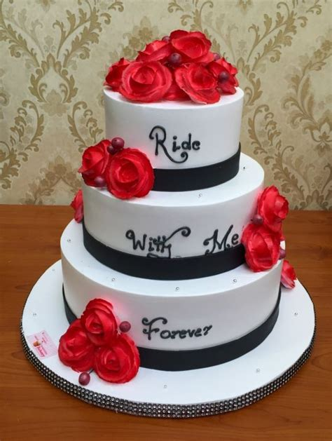Wedding Cake Ride by Ride With Me Forever Cake By S Sweet Temptation