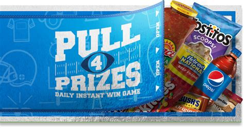 About Com Sweepstakes Daily - kroger game day greats instant win game 2018 gamedaygreats com