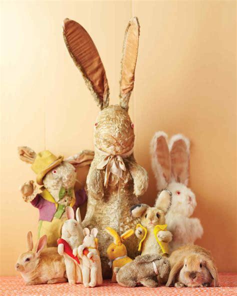 Vintage Easter Figurine Shop Collectibles - bunny collectibles martha stewart
