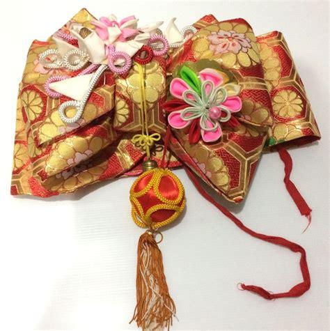 Bow 100cm japan import vintage japanese dress kimono accessories