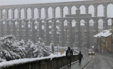 cadenas nieve obligatorias cadenas obligatorias para circular por segovia el norte