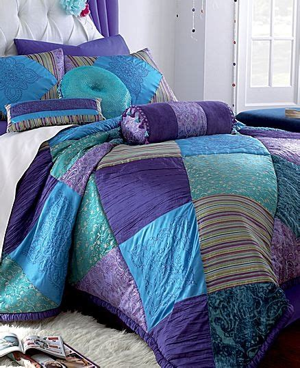 seventeen bedding sets seventeen 174 crystal violet comforter set jcpenney house