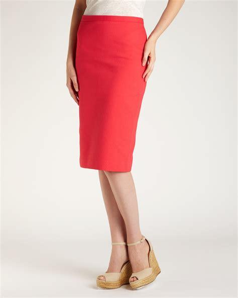 Cotton Pencil Skirt cotton pencil skirt innergetiq