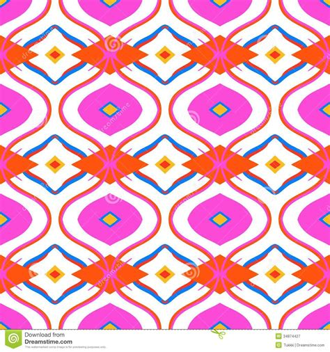 pattern making using motifs and colours ethnic pattern with arabic motifs royalty free stock