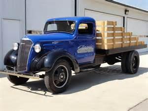 1937 chevrolet 1 1 2 ton flatbed truck 113068