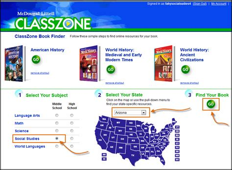 activate your products classzone classzone book finder