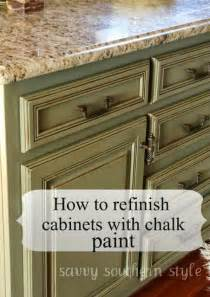 Kitchen Cabinet Chalk Paint Chalk Paint Cabinets On Pinterest Chalk Paint Kitchen