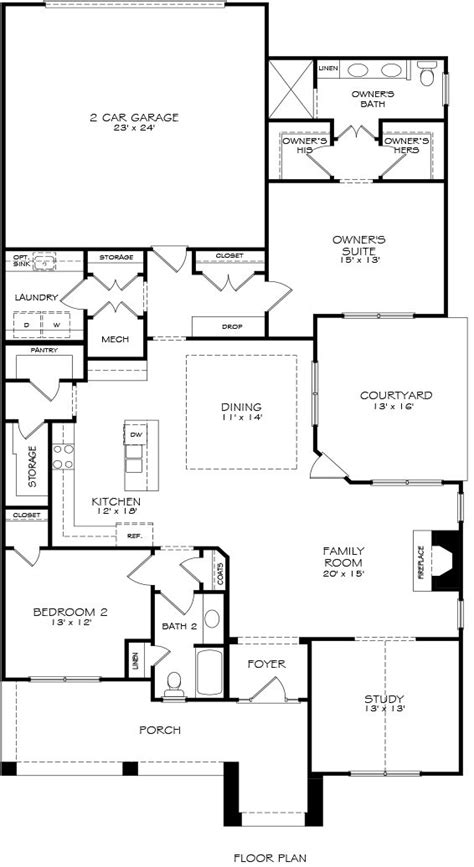 epcon floor plans models the courtyards at cramerton epcon communities