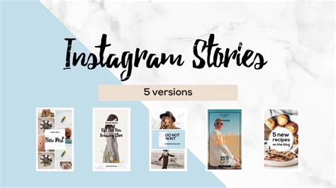 Instagram Stories After Effects Templates Motion Array Instagram Story Template After Effects